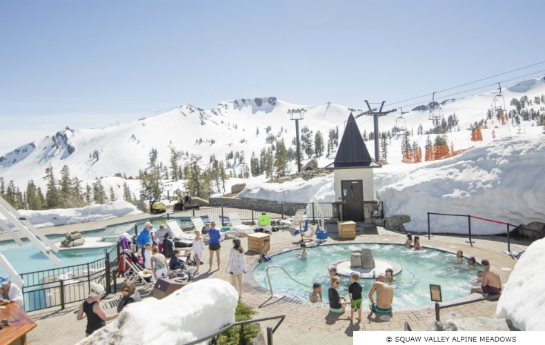 Squaw Valley Alpine Meadows High Camp Hottub SkiBookings.com