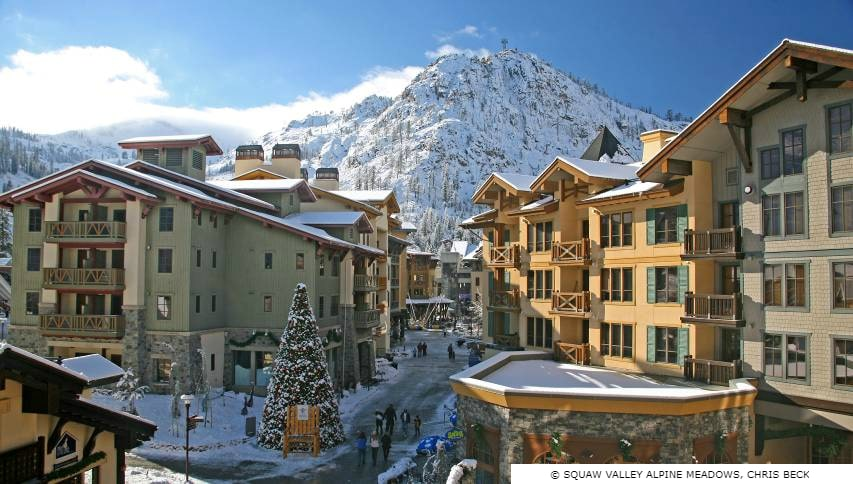 Squaw Valley Alpine Meadows Village & Shopping