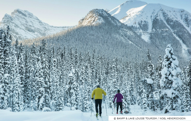 Lake Louise Cross Country Skiing SkiBookings.com