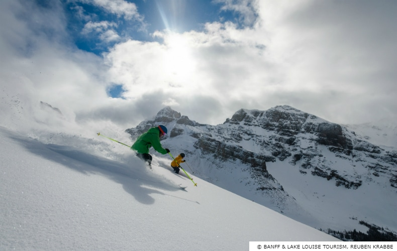 Banff Winter Ski Destination Powder SkiBookings.com