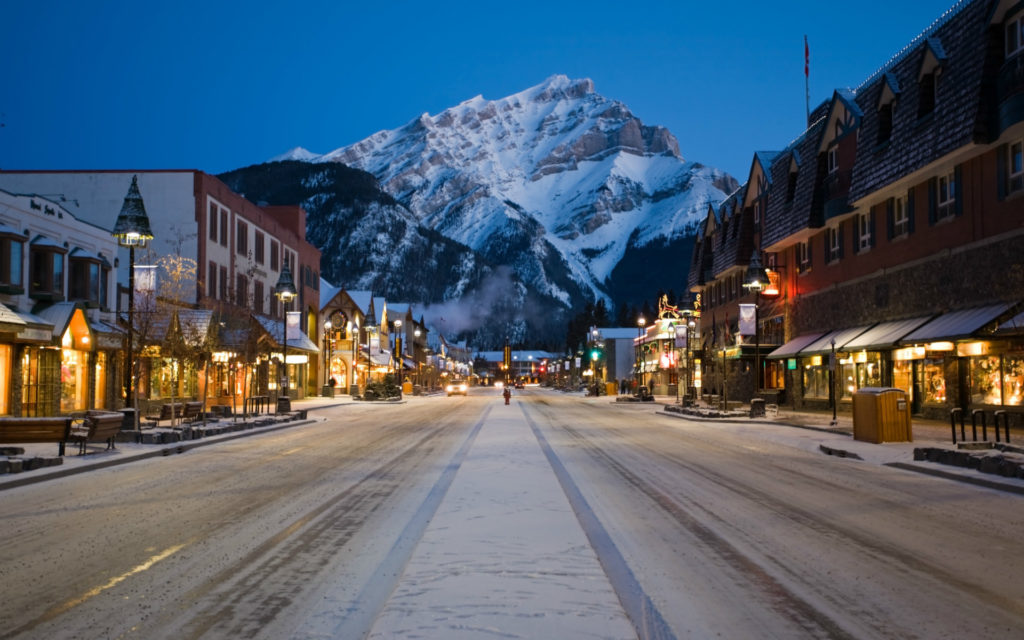 Banff Winter Ski Destination SkiBookings.com
