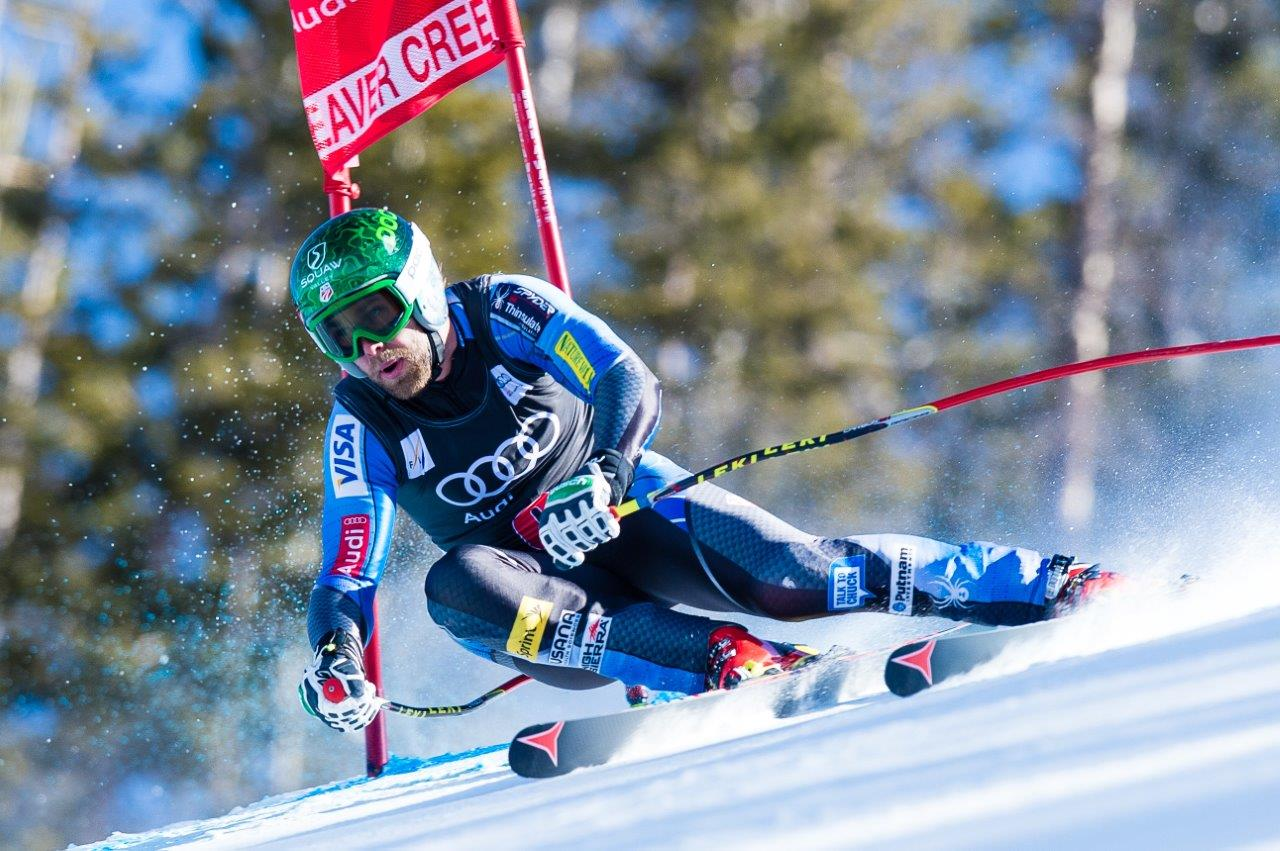 Competitive skier passes red flag at Beaver Creek Ski Resort