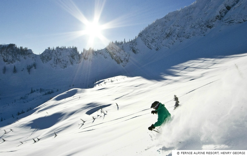 Fernie Alpine Resort Powder SkiBookings.com