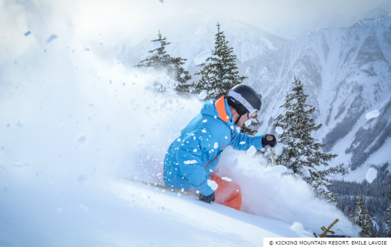 Kicking Horse Ski Resort, British Columbia, Canada - SkiBookings on kicking horse skiing, red mountain ski map, banff ski map, lake louise ski map, kicking horse bike park, kicking horse summer,
