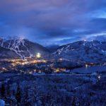Whistler Blackcomb Village At Night Photo Credit Vail Resorts