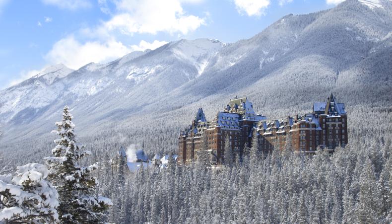 Banff Springs Hotel Winter Fairmont SkiBookings.com