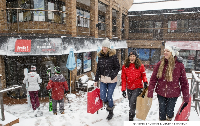 Aspen Snowmass Mountain Shopping SkiBookings.com