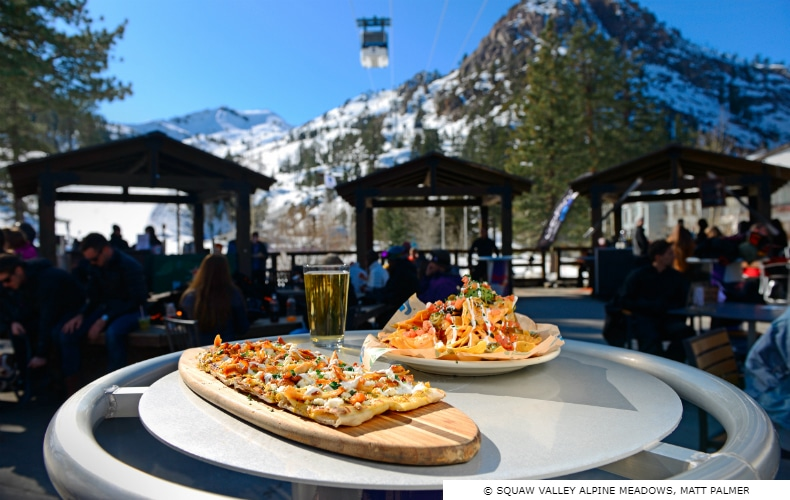Squaw Valley Alpine Meadows Restaurants, Bars & Nightlife