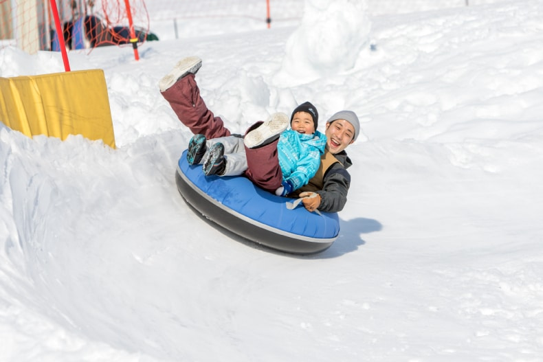 Hakuba Ski Area Activities Tubing SkiBookings.com