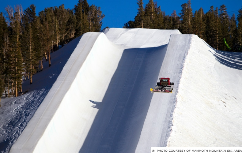 Mammoth Mountain Super Pipe SkiBookings.com