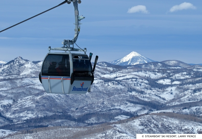 Steamboat Ski Resort Gondola SkiBookings.com