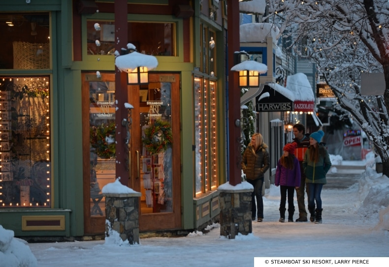 Steamboat Ski Resort Shopping SkiBookings.com