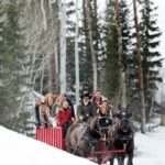 Park City Mountain Resort Sleigh Ride Photo Credit Vail Resorts
