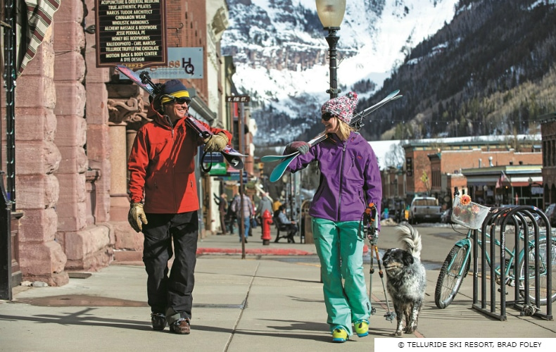 Telluride Ski Resort Shopping SkiBookings.com