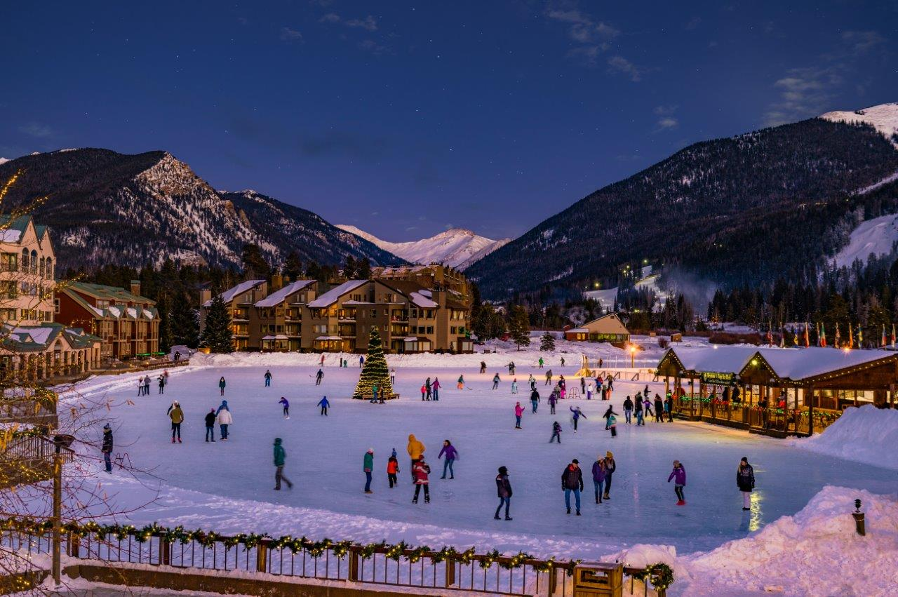 Ice Skating Keystone Resort - Credit Jack Affleck