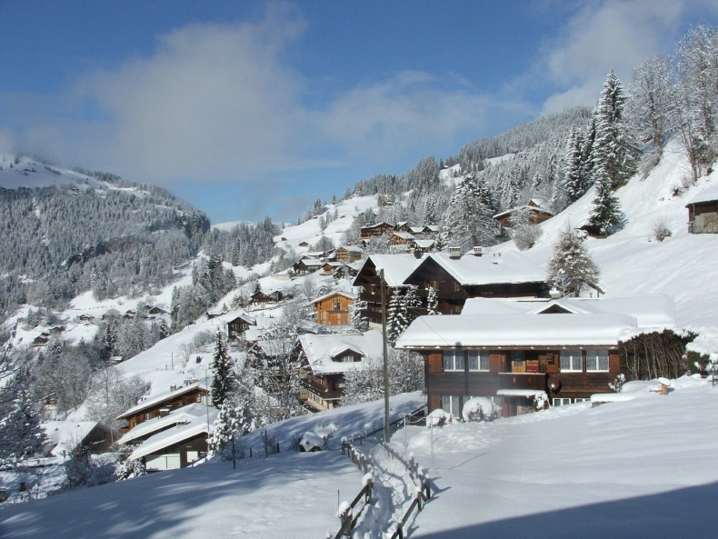 Wengen Ski Resort SkiBookings.com
